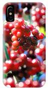 Berry Berry Red-1 IPhone Case