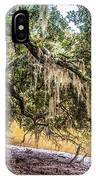 Bethany Cemetery Oaks And Tidal Creek IPhone Case