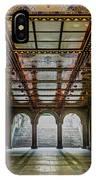Bethesda Terrace Arcade 3 IPhone Case