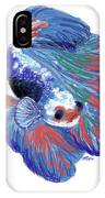 Betta Fish IPhone Case
