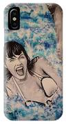 Betty Page IPhone Case
