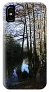 Between Trees IPhone Case