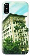 Beverly Hills Rodeo Drive 3 IPhone Case