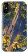 Beverly Hills Streets, Aerial View IPhone Case