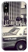Beverly Hills - Taxi - Wilshire Boulevard Intersection IPhone Case