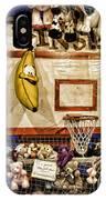 Beware The Smiling Banana  IPhone Case by Bob Orsillo