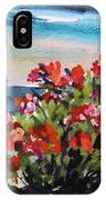 Beyond Sea Roses IPhone Case