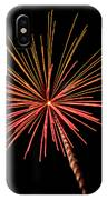 Bi-color Fireworks 2 IPhone Case