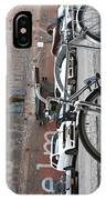 Bicycle And Building IPhone Case