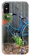 Bicycle Garden IPhone Case