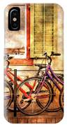 Bicycle Line-up IPhone Case