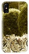 Bicycle Park 2 IPhone Case