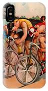 Bicycle Race 1895 IPhone Case