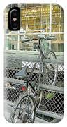 Bicycle Rack IPhone Case