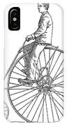 Bicycling, 1880 IPhone Case