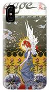 Bicycling, 1896 IPhone Case