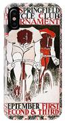 Bicycling Poster, 1896 IPhone Case