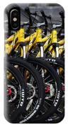 Bicyles IPhone Case