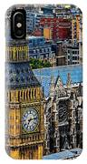 Big Ben And Westminster Abbey IPhone Case