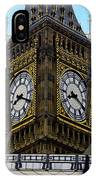 Big Ben Time IPhone Case