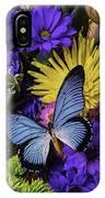 Big Blue Wings IPhone Case