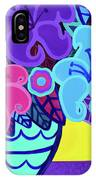 Big Colorful Lillies IPhone Case