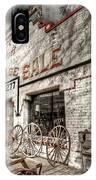 Big Garage Sale IPhone Case