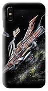 Big, Old Space Shuttle Of Dead Civilization IPhone Case