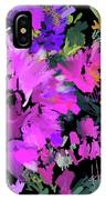 Big Pink Flower IPhone Case