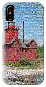 Big Red Photomosaic IPhone Case