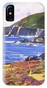 Big Sur Wildflowers - Plein Air IPhone Case