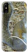 Big Tail Little Nut IPhone Case