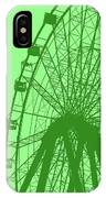Big Wheel Green IPhone Case