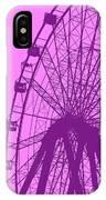 Big Wheel Purple IPhone Case
