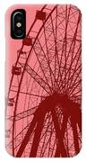 Big Wheel Red IPhone Case