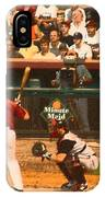 Biggio At Bat Houston Astros IPhone Case