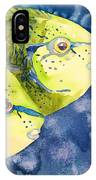 Bignose Unicornfish IPhone Case