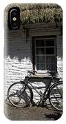 Bike At The Window County Clare Ireland IPhone Case
