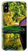 Bike Path Bridge IPhone Case