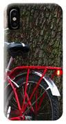 Bike Resting IPhone Case