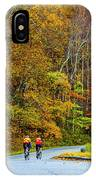 Biking On The Parkway IPhone Case