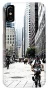 Biking The Streets Of New York City IPhone X Case