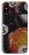 Billiard Ball Bottle Cap Mosaic IPhone Case