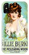 Billie Burke In The Misleading Widow 1919 IPhone Case
