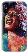 Billie Holiday Live IPhone Case