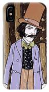 Billy Wonka One  IPhone Case