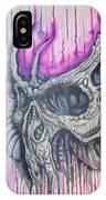 Bioskull1 IPhone Case