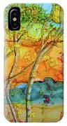 Birch And Liquid Amber IPhone Case
