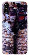 Birch Bark Closeup IPhone Case