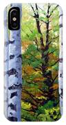 Birch Buddies IPhone Case